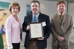Faculty Outstanding Research Achievement Awards 2012, Judy Genshaft, John Carter, Dwayne Smith