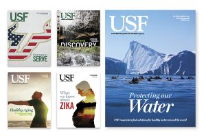 USF's Alumni Magazine Goes Digital in Spring 2017